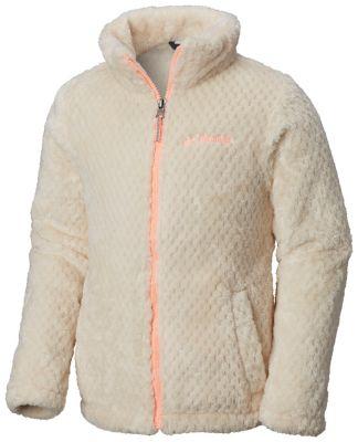 Girls' Fluffy Fleece™ Full Zip Jacket | Tuggl