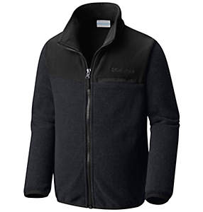 Boys' Mountain Crest™ Full Zip Fleece Jacket