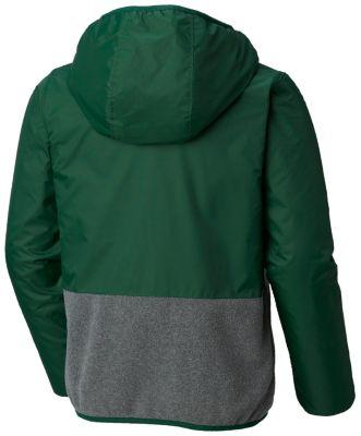 Boys' Mountain Side™ Overlay Full Zip Fleece