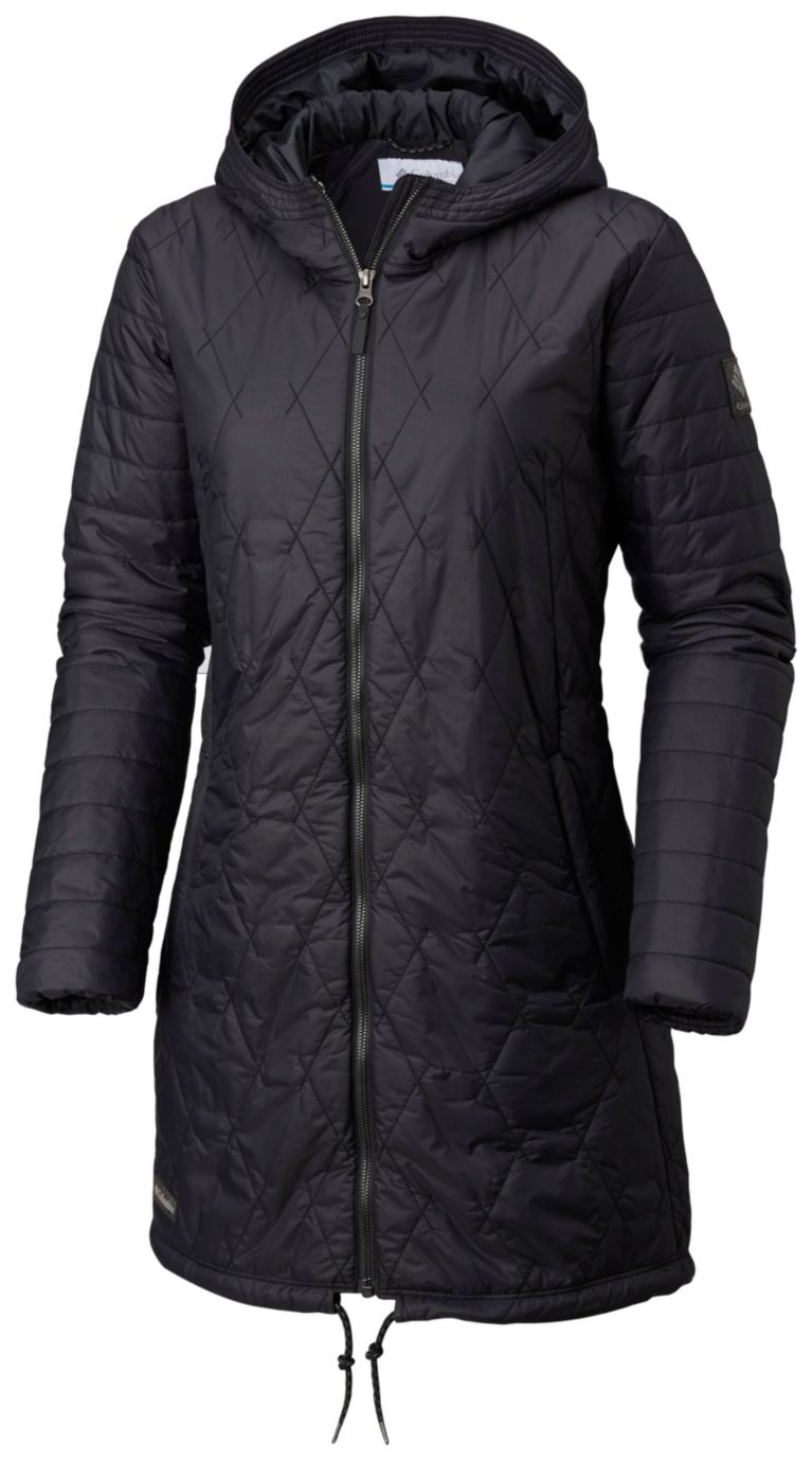 Black Women's Castle Crest™ Mid Jacket, View 0