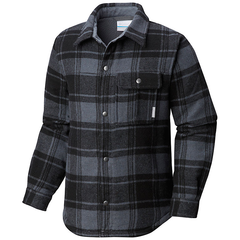 8aba0deebc0 Grill Plaid Boys' Windward™ Shirt Jacket, View 0
