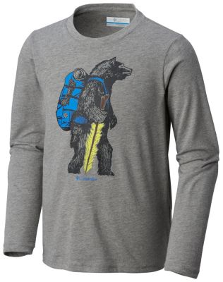 Kids' Animal Antics™Long Sleeve Shirt | Tuggl