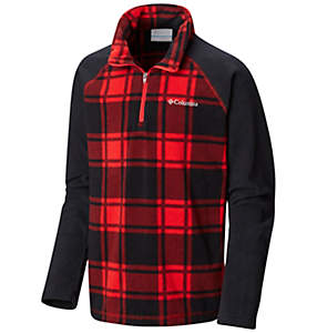 Boys' Glacial™ III Fleece Printed Half Zip