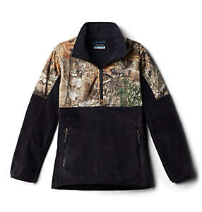 Boys' PHG™ Overlay Half Zip Fleece Pullover
