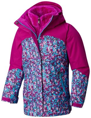 Girls' Bugaboo™ II Fleece Interchange Jacket | Tuggl
