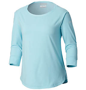 Women's PFG Reel Relaxed™ Knit ¾ Sleeve Shirt-Plus Size