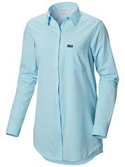 cea9393389a6 Women s PFG Reel Relaxed™ Woven Tunic Top