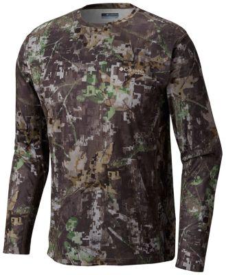 Men's Trophy Rack™ Long Sleeve Knit Shirt   Tuggl