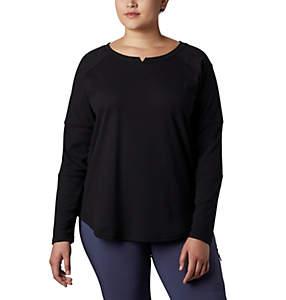 Women's Fall Pine™ Washed Crew Shirt - Plus Size