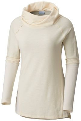 Women's Easy Going™ Long Sleeve Cowl Neck Shirt - Plus Size | Tuggl