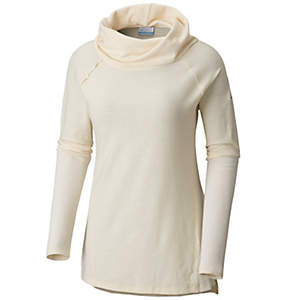 Women's Easy Going™ Long Sleeve Cowl Neck Shirt - Plus Size