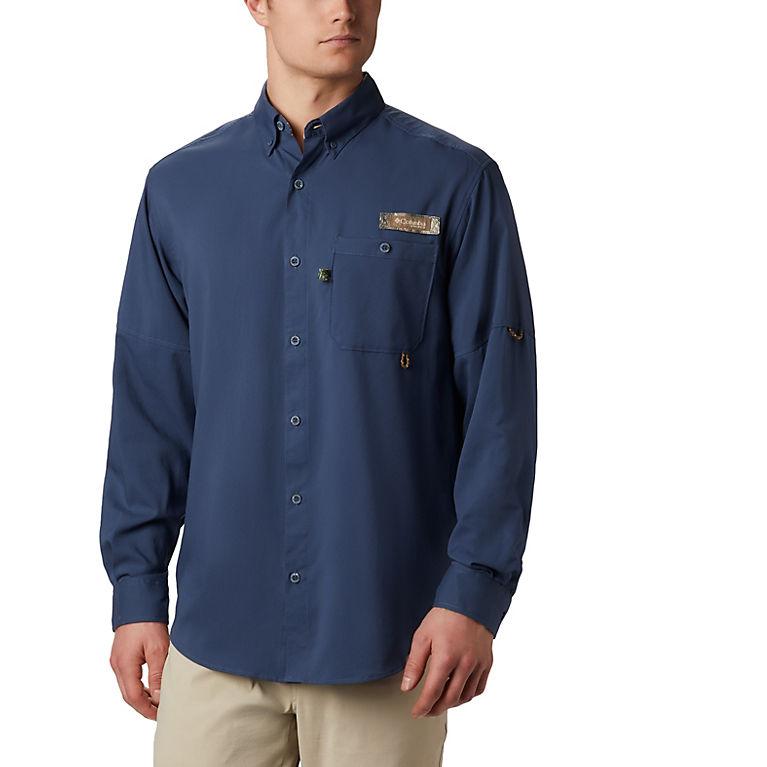 447a1a28198 Dark Mountain, RT Edge Men's Bucktail™ Long Sleeve Woven Shirt, View 0