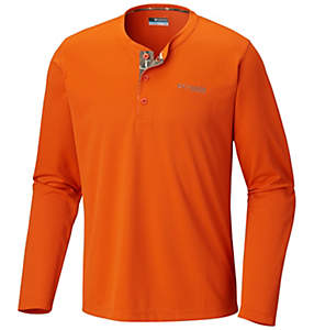 Men's Bucktail™ Henley Long Sleeve Shirt