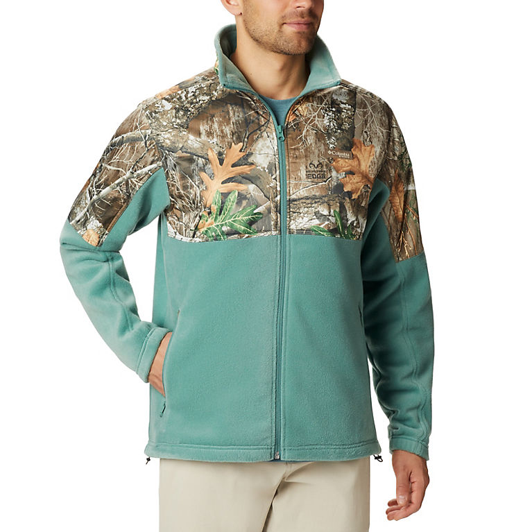 1124cdeb3187b Thyme Green, RT Edge Men's PHG™ Fleece Overlay Jacket, View 0