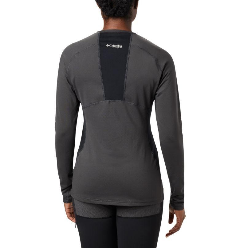 Women's Titanium OH3D™ Knit Crew Top Women's Titanium OH3D™ Knit Crew Top, back