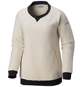 Women's Feeling Frosty™ Sherpa Pullover - Plus Size
