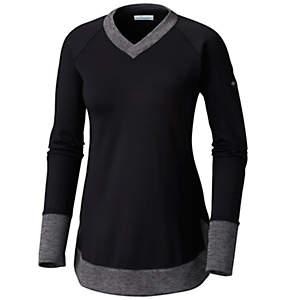 T-shirt col en V Optic Got It™ pour femme – Grande taille