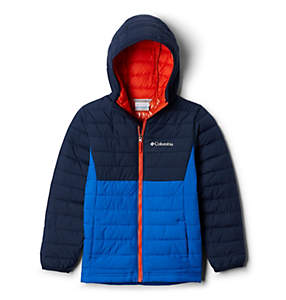 Boys' Powder Lite™ Hooded Jacket