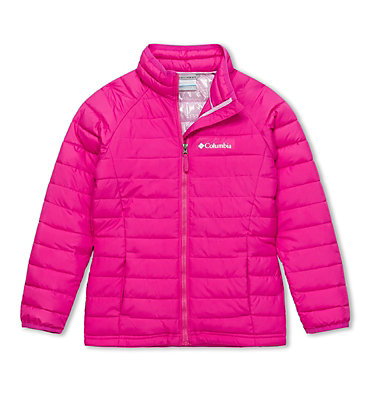 Powder Lite™ Jacke für Mädchen , front