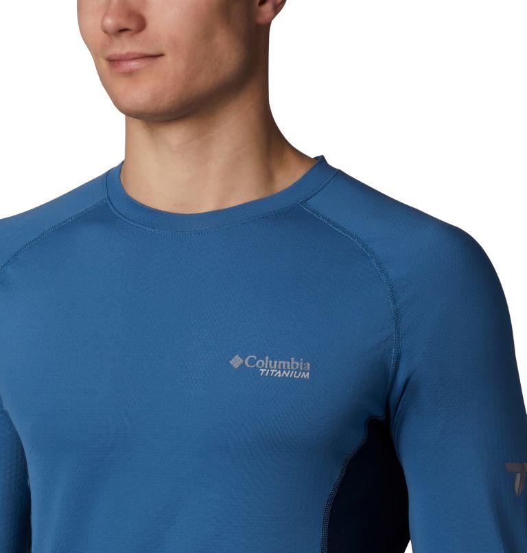 Omni-Heat 3D™ Knit Crew Top | 461 | XL Haut Ras Du Cou En Tricot Titanium OH3D™ Homme, Scout Blue, Collegiate Navy, a1