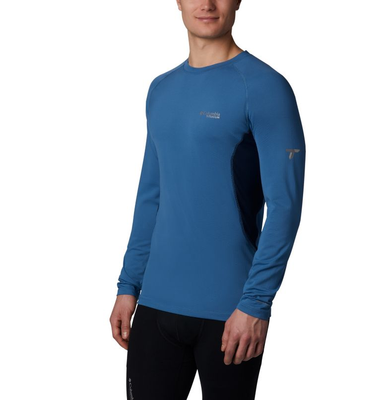 Omni-Heat 3D™ Knit Crew Top | 461 | XL Haut Ras Du Cou En Tricot Titanium OH3D™ Homme, Scout Blue, Collegiate Navy, front