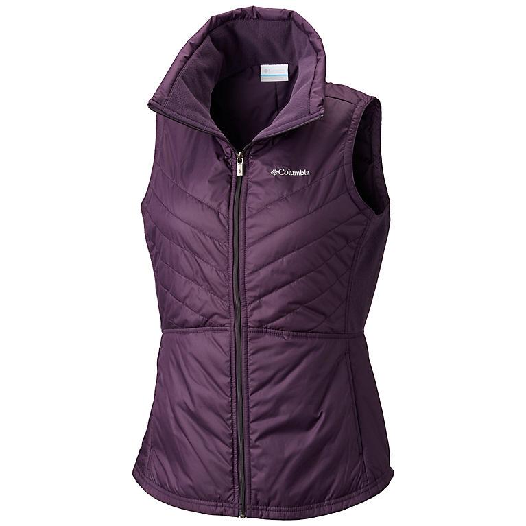 2596524592c Dark Plum Women s Mix It Around™ II Vest - Plus Size