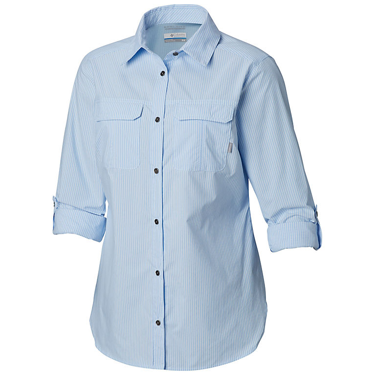 14c7509dc57 Pale Blue Stripe Women s Pilsner Peak™ Ombre Stripe Long Sleeve