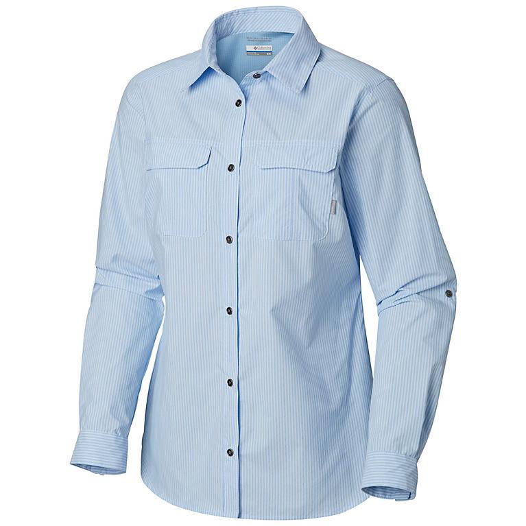 d00bcf187ebf3 Pale Blue Stripe Women s Pilsner Peak™ Ombre Stripe Long Sleeve