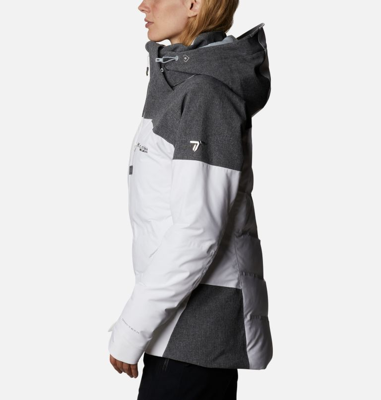Powder Keg™ II Down Jacket | 101 | XL Women's Powder Keg™ II Ski Down Jacket, White, Cirrus Grey, a1
