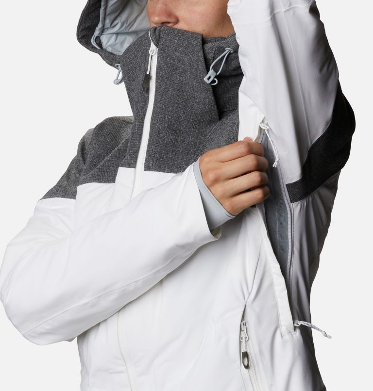 Powder Keg™ II Down Jacket | 101 | XL Women's Powder Keg™ II Ski Down Jacket, White, Cirrus Grey, a4