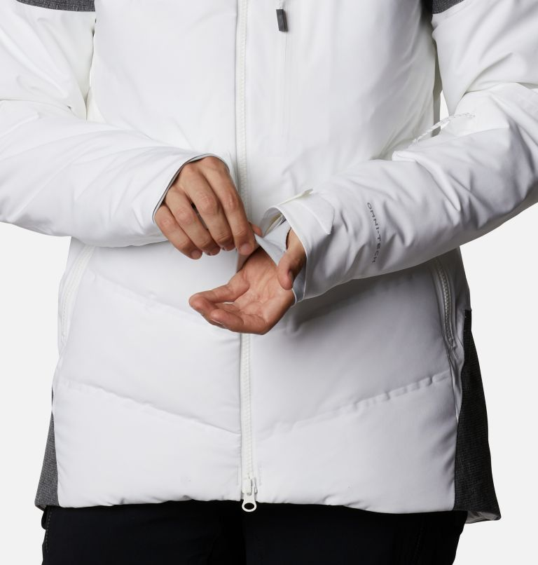 Powder Keg™ II Down Jacket | 101 | XL Women's Powder Keg™ II Ski Down Jacket, White, Cirrus Grey, a8
