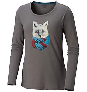 Women's Little Foxy™ Long Sleeve T-Shirt - Plus Size