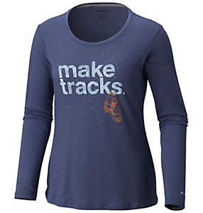 Women's Outdoor Elements™ Long Sleeve Tee – Plus Size