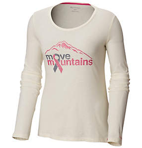 Women's Tested Tough In Pink™ II Long Sleeve Tee-Plus Size