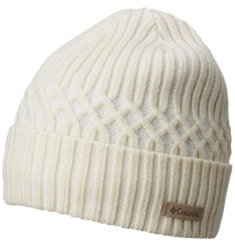 Raven Ridge™ Cabled Beanie | 106 | O/S Unisex Raven Ridge™ Cabled Beanie, Light Bisque, front