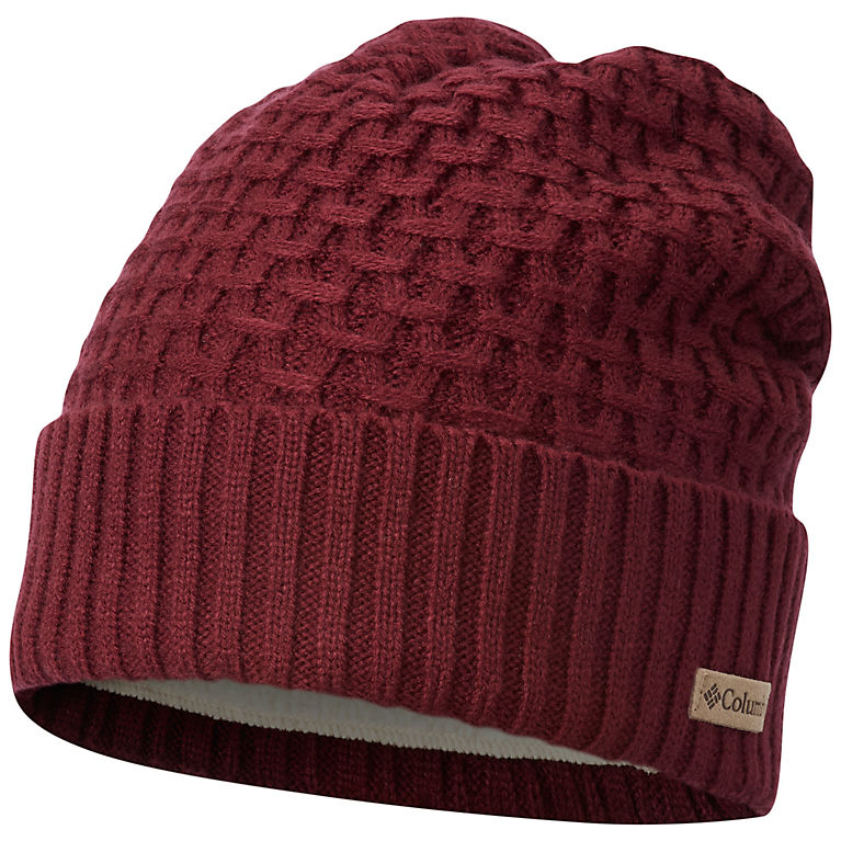 8c77cd85fbd Rich Wine Hideaway Haven™ Cabled Beanie