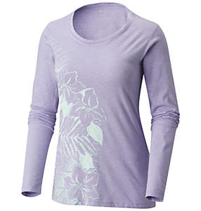 Women's PFG™ Flowers Long Sleeve Crew
