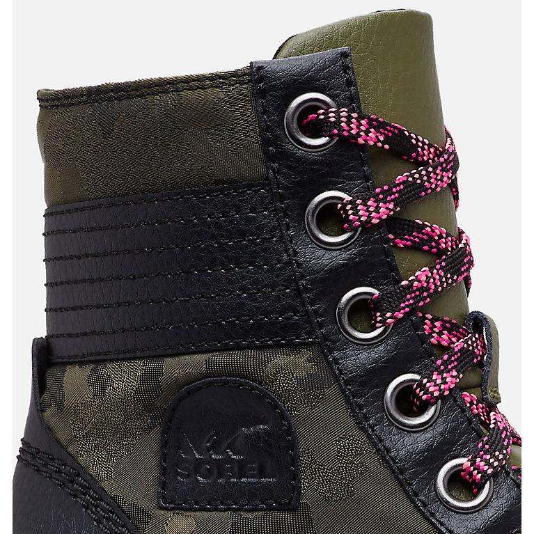 ccae418a1d63 Big Kids  Lexie Wedge Camo Boot