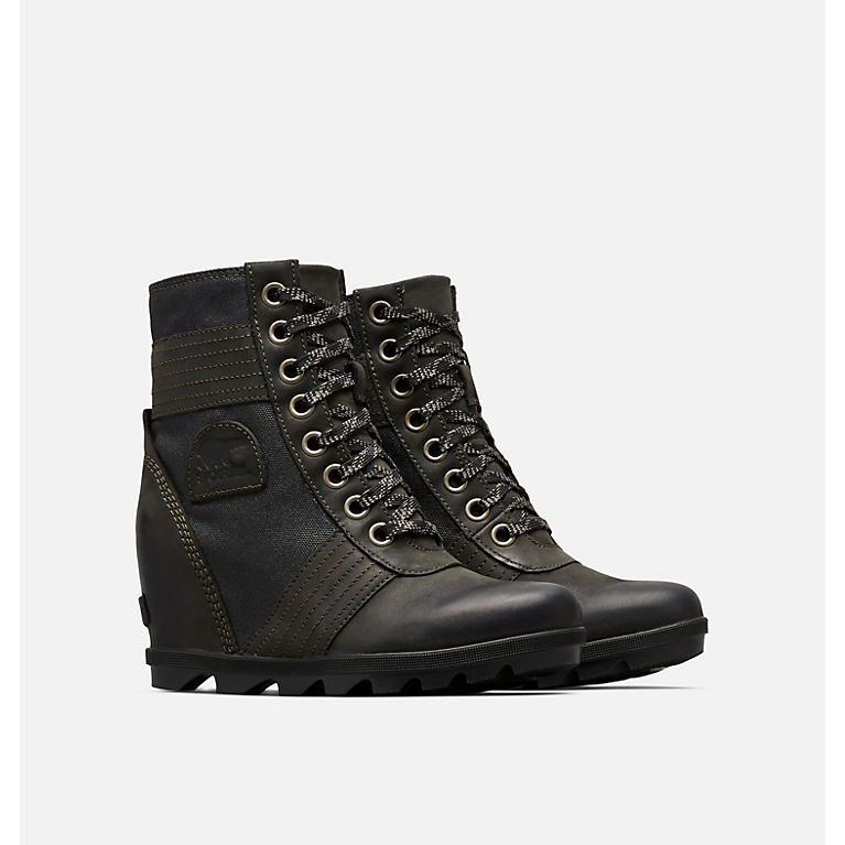 1fe4b167212a Black Women s Lexie™ Wedge Boot