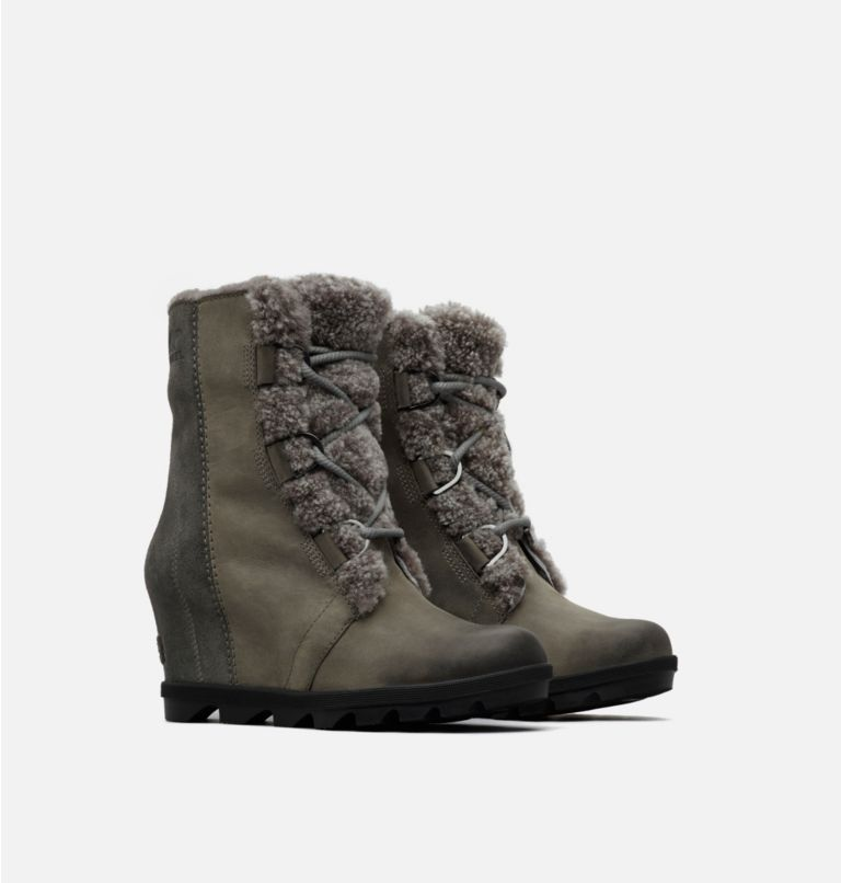 Botte Joan of Arctic™ Wedge II Shearling femme Botte Joan of Arctic™ Wedge II Shearling femme, 3/4 front