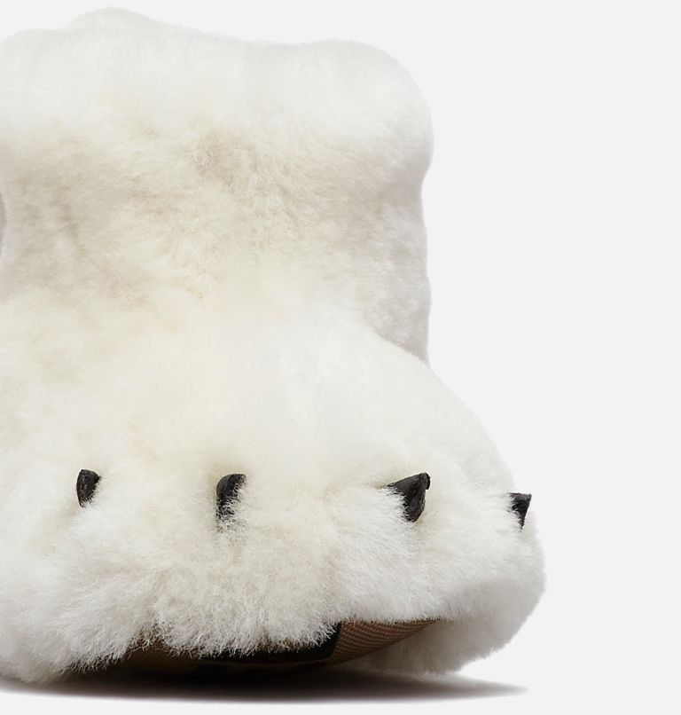 CHILDRENS SOREL™ BEAR PAW SLIPPER | 125 | 10 Little Kids' SOREL™ Bear Paw Slipper, Sea Salt, Beach, a1