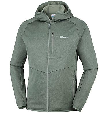 Fleece con cappuccio e cerniera Drammen Point™ da uomo , front