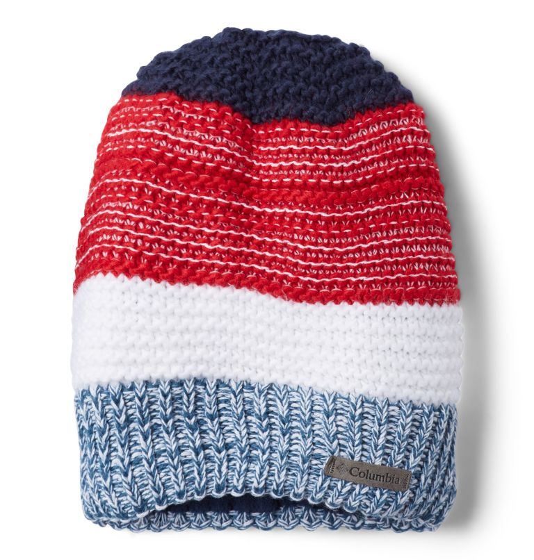 Gyroslope™ II Beanie | 613 | O/S Bonnet Gyroslope™ II Junior, Mountain Red, Collegiate Navy, front