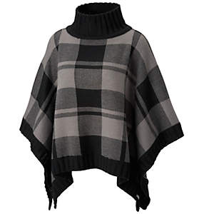 Women's Be Cozy™ Sweater Poncho – Plus Size