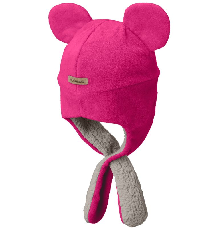 Toddler Tiny Bear™ II Beanie | 612 | O/S Bonnet Tiny Bear™ II Enfant, Cactus Pink, back