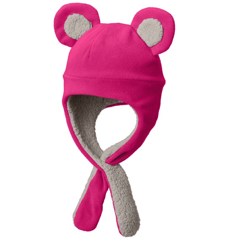 Toddler Tiny Bear™ II Beanie | 612 | O/S Bonnet Tiny Bear™ II Enfant, Cactus Pink, front