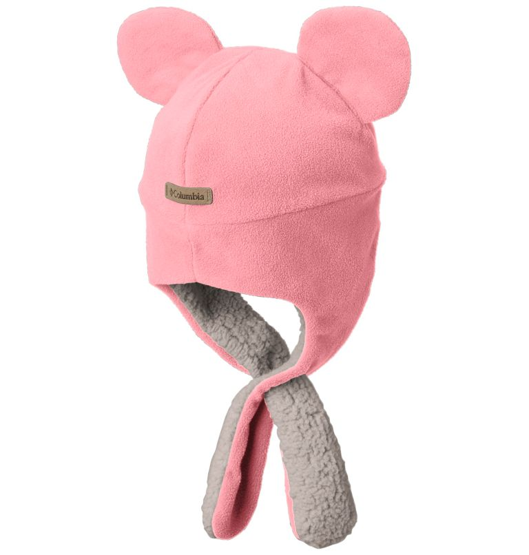 Toddler Tiny Bear™ II Beanie   807   O/S Toddlers' Tiny Bear™ II Beanie, Tiki Pink, back