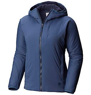 Manteau à capuchon Kor Strata™ pour femme