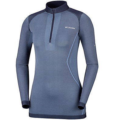 Women's Engineered Long Sleeve Half-Zip Crew , front
