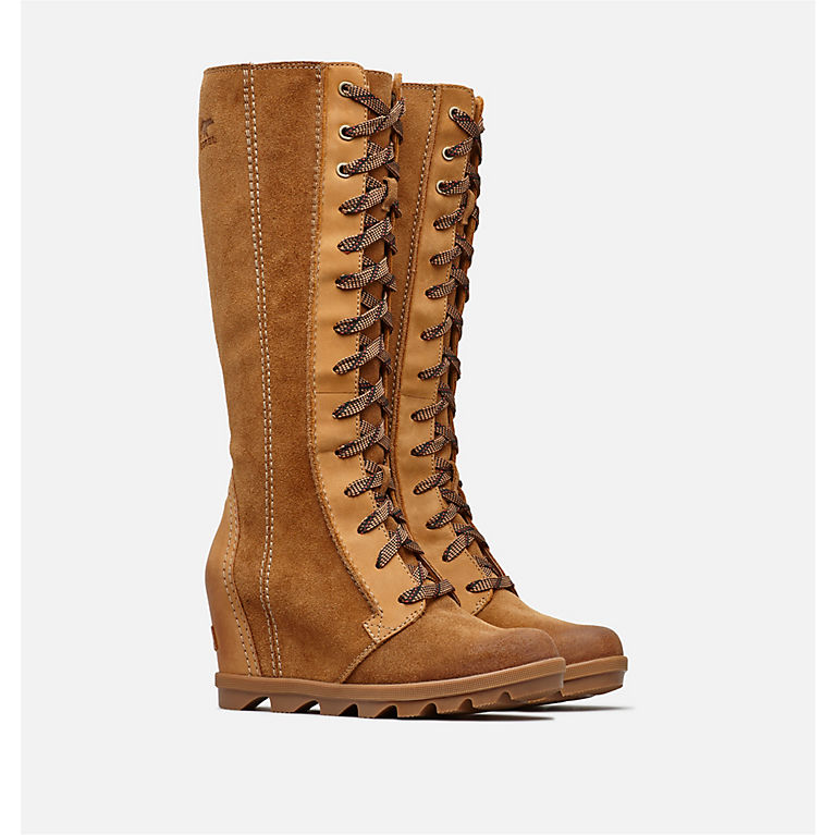 c75ce77906a Camel Brown Women s Joan of Arctic™ Wedge II Tall Boot